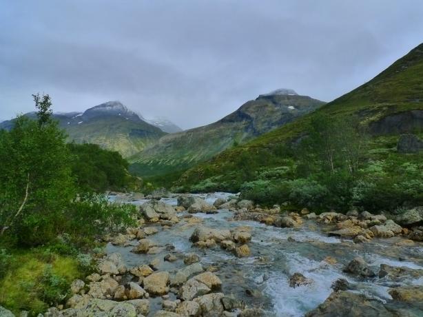 údolí Storadalen